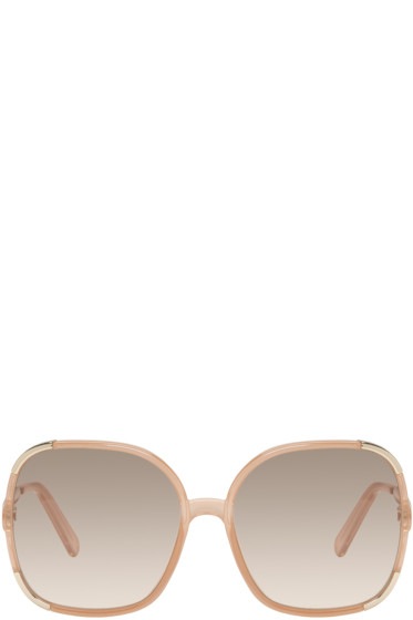 Chloé - Pink Square Sunglasses