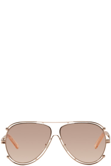Chloé - Rose Gold Isidora Sunglasses