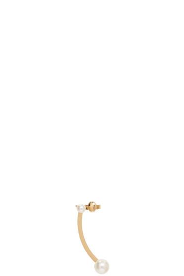 Chloé - Gold Darcey Pierced Ear Cuff