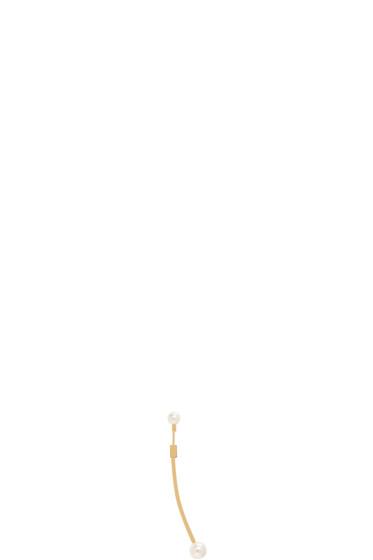 Chloé - Gold Darcey Long Bar Earring