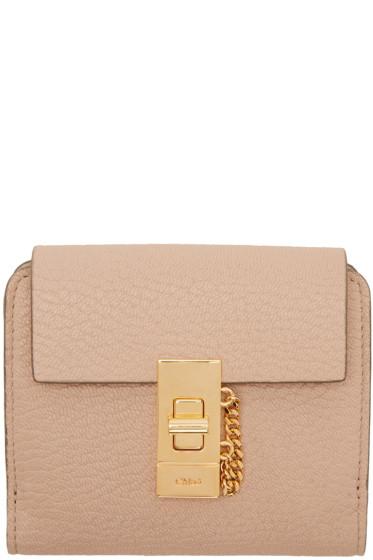 Chloé - Pink Drew Square Wallet