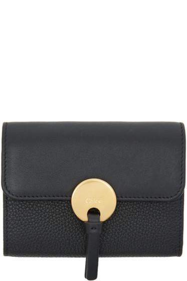 Chloé - Black Mini Indy Wallet