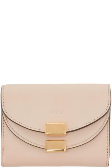 Chloé - Pink Mini Georgia Wallet