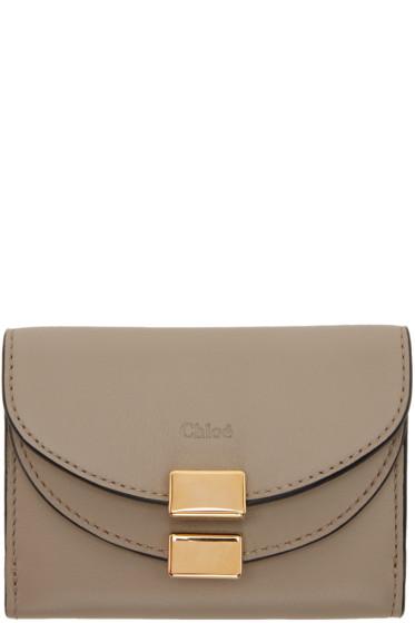 Chloé - Grey Mini Georgia Wallet