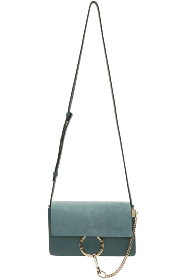 Chloé - Blue Small Faye Bag