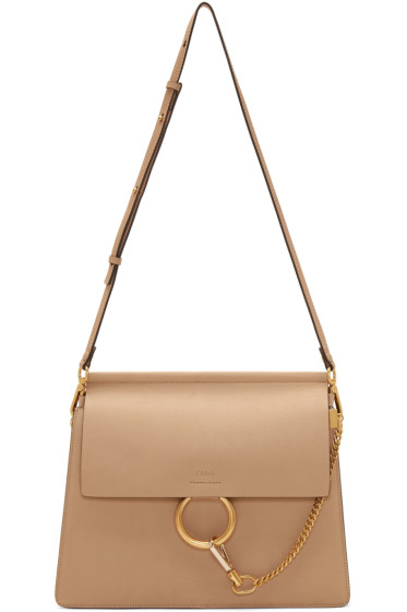 Chloé - Beige Medium Faye Bag