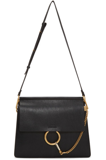 Chloé - Black Medium Faye Bag