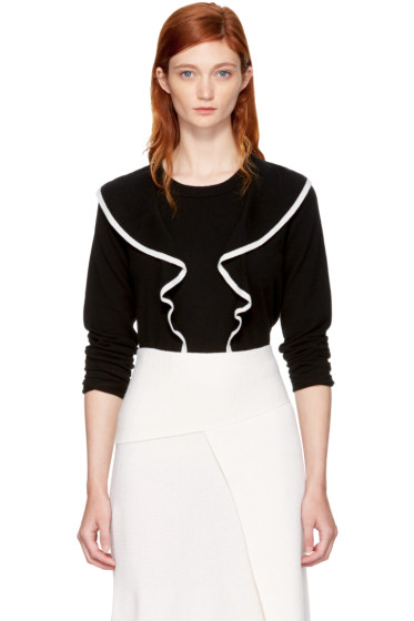 Chloé - Black Ruffle Sweater