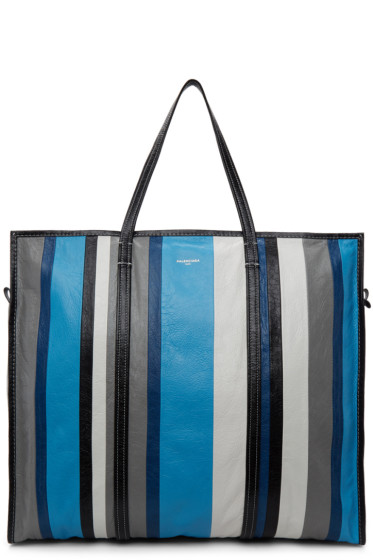 Balenciaga - Blue Bazar Shopper XL Tote