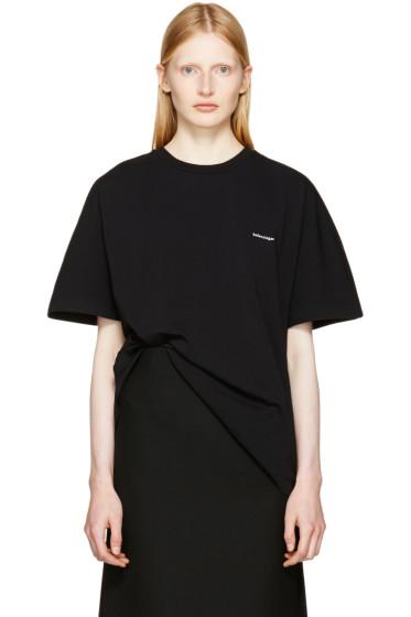 Balenciaga - Black Cocoon T-Shirt