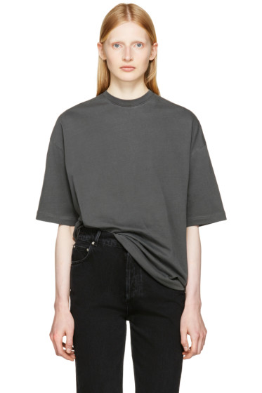 Balenciaga - Grey 'Femme Fatale' T-Shirt