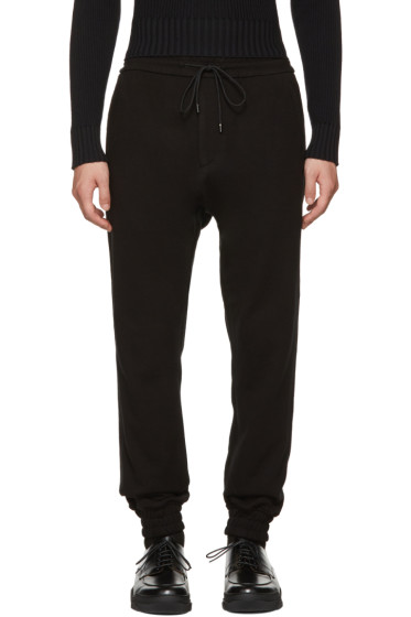 Juun.J - Black Drop Lounge Pants