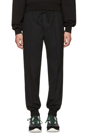 Juun.J - Black Drawstring Trousers