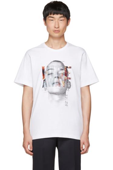 Juun.J - White 'Hide Away' T-Shirt