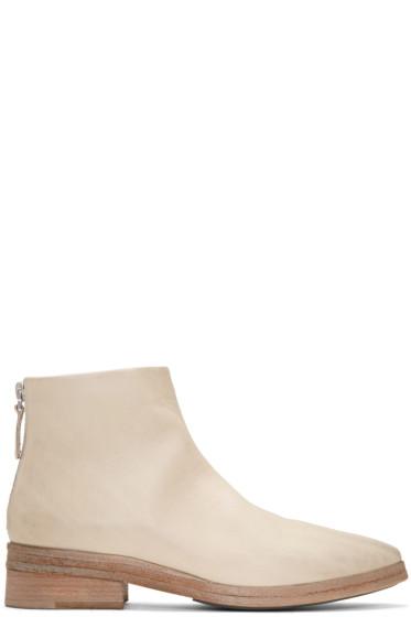 Marsèll - White Listone Boots