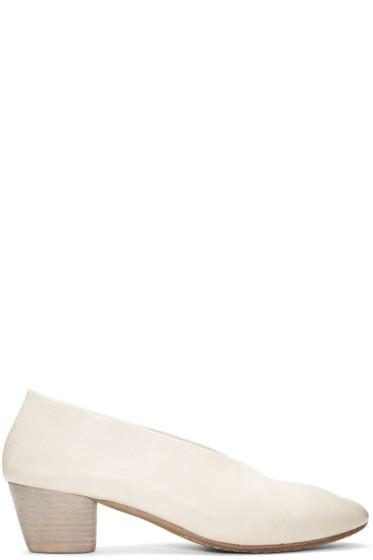 Marsèll - White Coltello Invernale Heels
