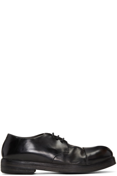 Marsèll - Black Cap Toe Derbys