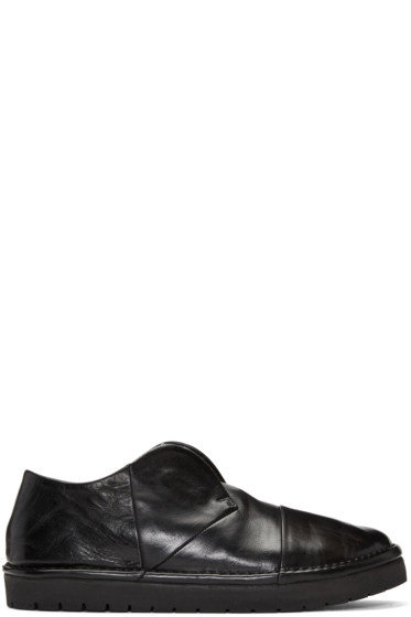 Marsèll - Black Leather Loafers