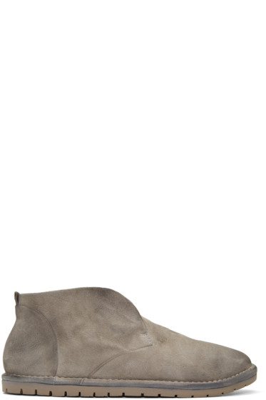 Marsèll - Grey Suede Loafers