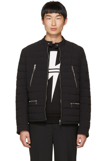 Neil Barrett - Black Quilted Nylon Sport Jacket