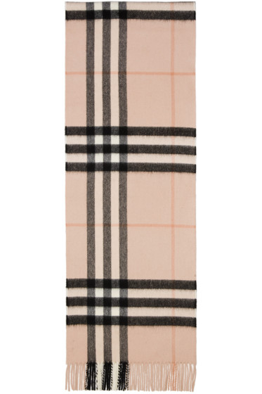 Burberry - Pink Giant Icon Scarf