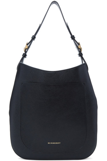 Burberry - Black Small Elmstone Hobo Bag