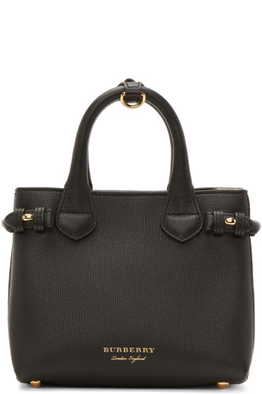 Burberry - Black Baby Banner Tote
