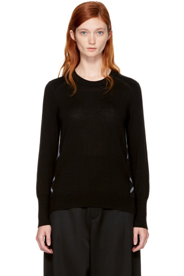 Burberry - Black Merino Meigan Sweater