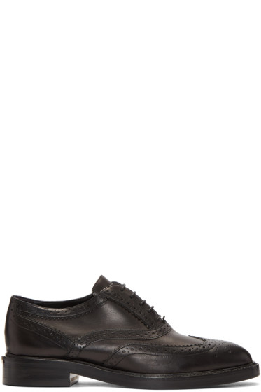 Burberry - Black Gennie Brogues