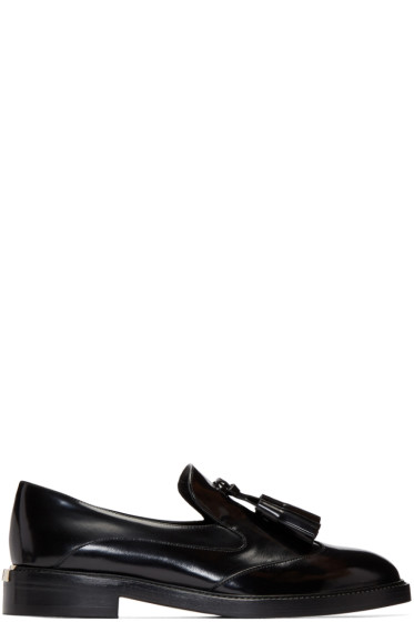 Burberry - Black Halsmoor Loafers