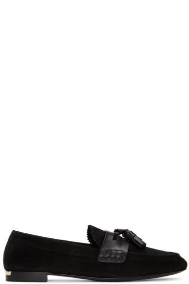 Burberry - Black Transmoor English Icon Loafers