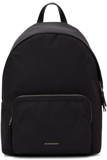 Burberry - Black Nylon Abbeydale Backpack
