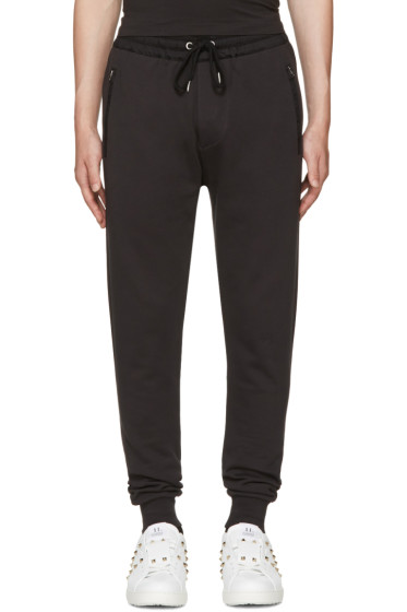 Burberry - Black Haleford Lounge Pants