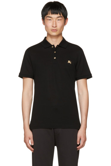 Burberry - Black Talsworth Polo