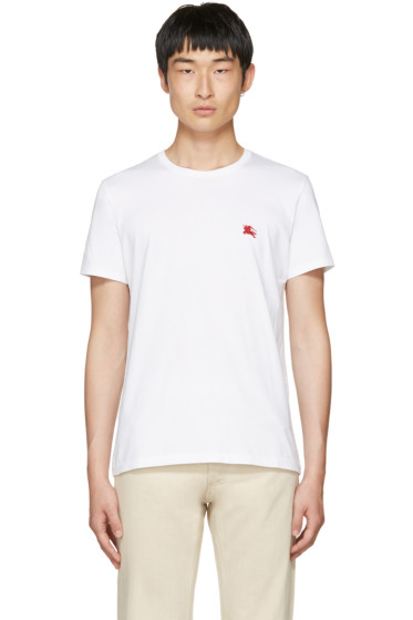 Burberry - White Tunworth T-Shirt