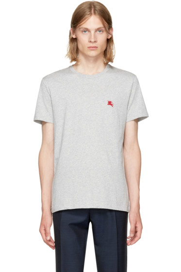 Burberry - Grey Logo T-Shirt