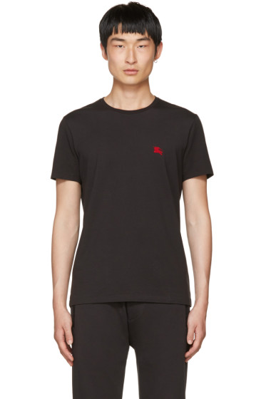 Burberry - Black Tunworth T-Shirt