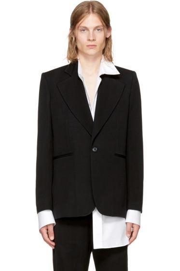 Ann Demeulemeester - Black Mustang Jacket