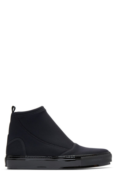 Marni - Black Neoprene Boots