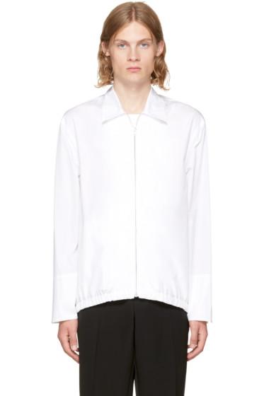 Marni - White Poplin Sport Jacket