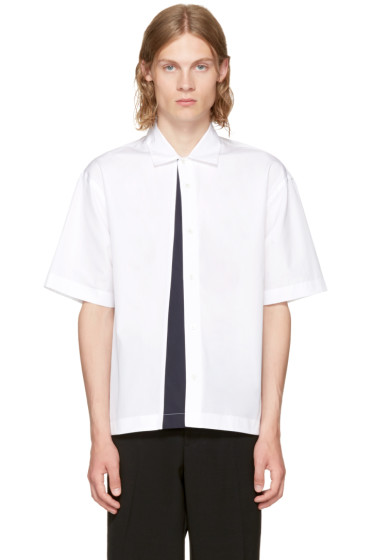 Marni - White Panelled Sport Shirt