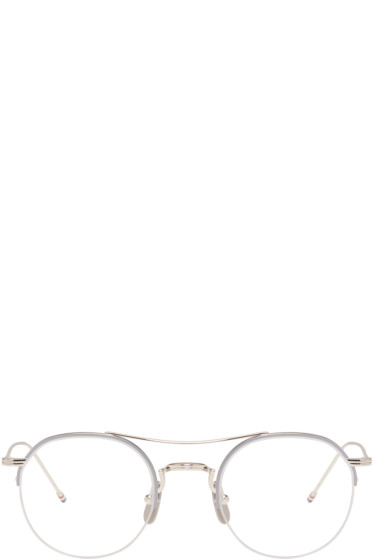 Thom Browne - Silver TB-903 Glasses
