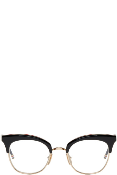 Thom Browne - Black & Gold TB 507 Glasses