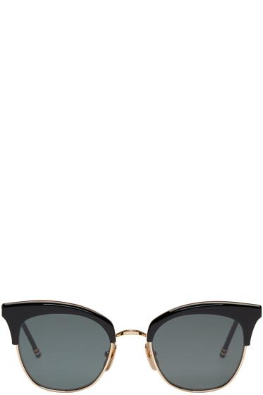 Thom Browne - Black & Gold TB 507 Sunglasses