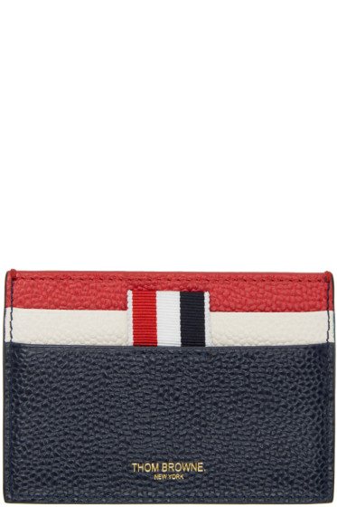 Thom Browne - Tricolor Stripe Card Holder