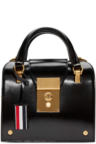 Thom Browne - Black Mini Mrs. Thom Bag