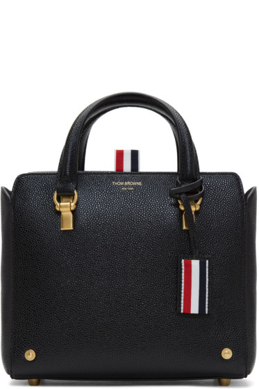 Thom Browne - Black Mini Mrs. Thom Tote