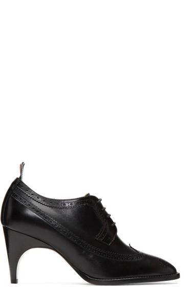 Thom Browne - Black Longwing Heels