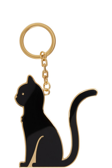 Thom Browne - Black Thom Cat Keychain