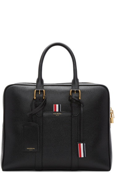 Thom Browne - Black Business Briefcase
